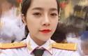 Nàng thơ ĐH Văn hóa Nghệ thuật Quân đội đẹp ngây ngất trong màu áo lính