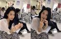"""Ngồi ăn trong bệnh viên, hot girl Tiktok khiến dân tình """"chết lịm"""""""