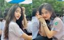 """Hot girl Nguyễn Khuyến cười sương sương mà CĐM """"đổ gục"""""""