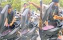 Pha đồ uống trong cốp xe máy, nhóm thanh niên gây tranh cãi