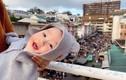 Du lịch Đà Lạt cùng bố mẹ, bé trai 1 tuổi bỗng nổi tiếng