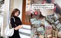 """Bạn gái cầu thủ đội tuyển Việt Nam có pha """"đập lợn"""" gây choáng"""