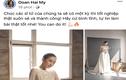 Bạn gái Đoàn Văn Hậu khoe kỷ niệm đi thi tốt nghiệp THPT