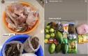Trai xinh gái đẹp khoe được tiếp tế thực phẩm khi giãn cách xã hội