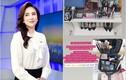 """""""MC đẹp nhất VTV"""" lộ tủ đồ ở cơ quan, netizen """"tròn cả mắt"""""""