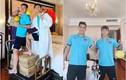 Dàn cầu thủ đội tuyển Việt Nam đón rằm Trung thu gây cười