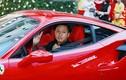 """Tuấn Hưng cưỡi """"siêu ngựa"""" Ferrari tiền tỷ tại Hà Nội"""