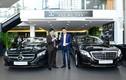 Em chồng Hà Tăng tậu cặp đôi Mercedes-Benz tiền tỷ