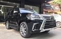 """""""Soi"""" xe sang Lexus LX570 giá 7 tỷ đồng tại Hà Nội"""