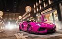 """Siêu xe Lamborghini Aventador màu hồng """"hàng độc"""" ở Tokyo"""