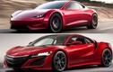 Siêu xe ôtô điện Tesla Roadster copy thiết kế của Honda?