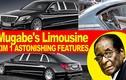 """Dàn """"xế hộp"""" triệu đô của cựu tổng thống Zimbabwe"""