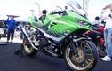 Môtô Kawasaki Ninja 400 độ khủng như siêu môtô đua
