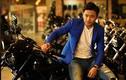 """Diễn viên Quý Bình đọ dáng môtô """"khủng"""" Harley-Davidson"""