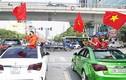 """Hàng chục """"xế hộp"""" Chevrolet Cruze xuống đường cổ vũ U23 Việt Nam"""