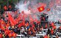 Cảm động về giao thông cổ vũ U23 Việt Nam