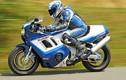 """Siêu môtô Suzuki Hayabusa """"biến hình"""" GSX-R1100 cổ điển"""