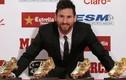 Video: Ghi bàn như máy, Messi lần thứ 5 đoạt Chiếc giày vàng châu Âu
