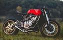 Xe môtô Honda CB600F độ cafe racer phong cách siêu xe Ferrari