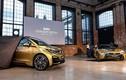 """Ra mắt bộ đôi """"xe xanh"""" BMW i3 và i8 dát vàng"""