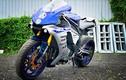 """Thợ Sài Gòn """"hô biến"""" Yamaha R1 cũ thành siêu môtô R1M"""