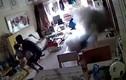 Scooter chạy điện nổ như bom khi đang sạc trong nhà