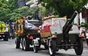 Đoàn xe tiễn Chủ tịch nước Trần Đại Quang về với đất mẹ