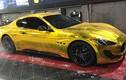 """Dân chơi Hà thành """"dát vàng"""" Maserati GranTurismo giá 12 tỷ"""