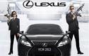 Siêu xe Lexus RC F đồng hành cùng các đặc vụ áo đen