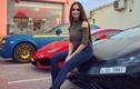 Nữ họa sĩ xinh đẹp sở hữu dàn siêu xe triệu đô