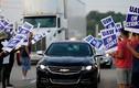 Tập đoàn ôtô GM thiệt hại khoảng 1 tỷ USD do đình công