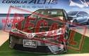 Triệu hồi 166 xe Toyota Corolla Altis tại Việt Nam do lỗi bơm xăng