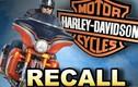 Triệu hồi hơn 31.000 xe Harley-Davidson lỗi đèn pha gây nguy hiểm