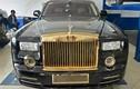 """Rolls-Royce Phantom """"độ"""" Rồng thời Lý, mạ vàng ở TPHCM"""