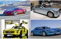 """Những siêu xe điện tuyệt mỹ có giá bán """"ngất ngưởng"""""""