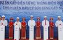 Người dân Lý Sơn háo hức xem lễ đóng điện lịch sử