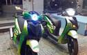 """Cặp đôi Honda SH """"trà xanh"""" bảnh bao giữa Sài Gòn"""