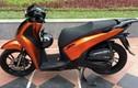 Honda SH đen cam mạnh mẽ ở Hà Nội