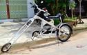 Xe đạp làm từ... phế liệu độc nhất Việt Nam