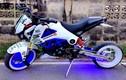 Honda MSX 125 trắng xanh phản quang độc mà lạ
