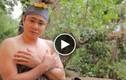 Lộ clip Tự Long tắm hớ hênh trong hài Tết 2015