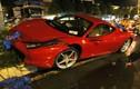 Siêu xe Ferrari 15 tỷ gặp nạn nát đầu ở Sài Gòn