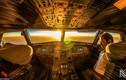 Thế giới nhìn từ buồng lái của phi công đẹp thế nào?