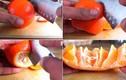 Mẹo bổ cam siêu nhanh có thể bạn chưa biết