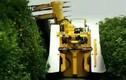 Tận mắt quy trình thu hoạch cam bằng máy nước người ta
