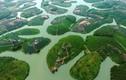 Ngắm ốc đảo chè đẹp nhất Việt Nam từ trên cao