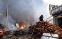 Thiệt hại khủng khiếp sau vụ cháy công ty gỗ gần cầu Đồng Nai