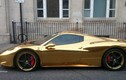 Siêu xe Ferrari 458 Spider dát vàng gần 7 tỷ đồng