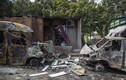 Thành trì ly khai Ukraine hoang tàn sau các đợt nã pháo