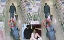 Cặp đôi trơ trẽn trộm tiền của cụ già trong siêu thị